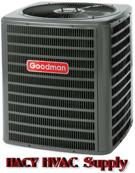 GSZ140301 Goodman 2-12 Ton 14 to 15 SEER R-410a Heat Pump Condenser