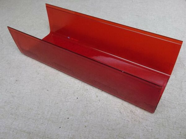 Whelen Red Light Cover 11.5quot; X 4 3 8quot; X 3quot; *FREE SHIPPING*