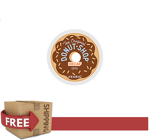 Donut Shop K-CUPS DECAF Coffee Keurig 198 Count