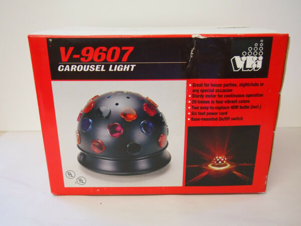 CAROUSEL LIGHT V 9607 DISCO PARTIES NIGHTCLUDS PARTIES 28 LENSES
