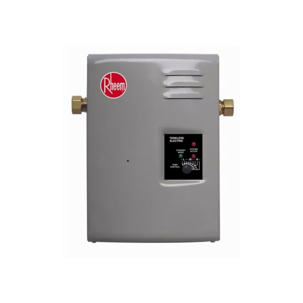 Tankless Hot Water Heater Electric 3GPM Whole House Best Instant On Demand LED