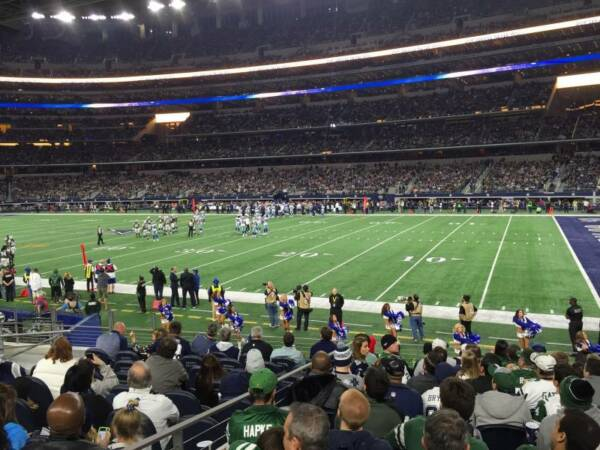 4 Dallas Cowboys PSL SEASON TICKETS RIGHTS sec 129 Row 11