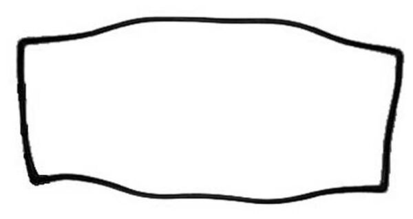 NEW! 1965-1968 Mustang  Windshield Weatherstrip Gasket Best Quality Made