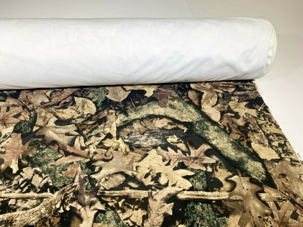 True Timber Harvest Camo Suede Velvet Upholstery Fabric Ameri 60quot; W Soft By Yard