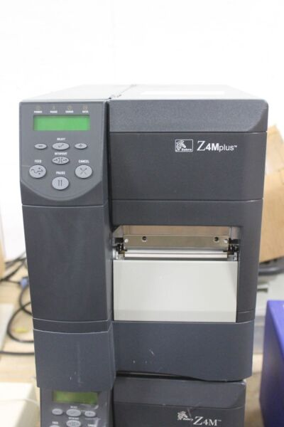 ZEBRA TECHNOLOGIES THERMAL BARCODE LABEL PRINTER: Z4M PLUS DT Z4M00-2001-000