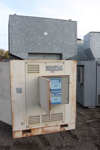 SIMPLEX LOAD BANK 263KW (603KW) FORCED AIR COOLED RESISTIVE LOAD BANK 12500 CFM
