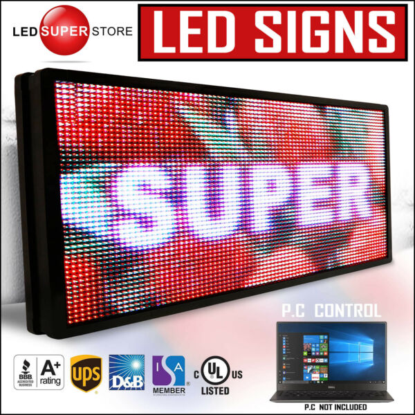 LED SUPER STORE: Full Color 41