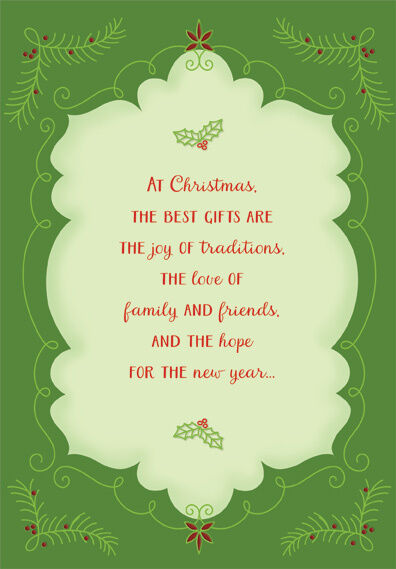 The Best Gifts Box of 18 Christmas Cards by Designer Greetings