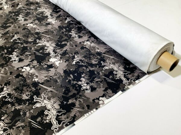 Viper Urban Camo Ameri Suede Upholstery Fabric 60quot;W Hunting Velvet True Timber