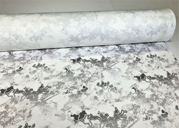 Viper Snow Camo Ameri Suede Upholstery Fabric 60quot;W Hunting Velvet True Timber