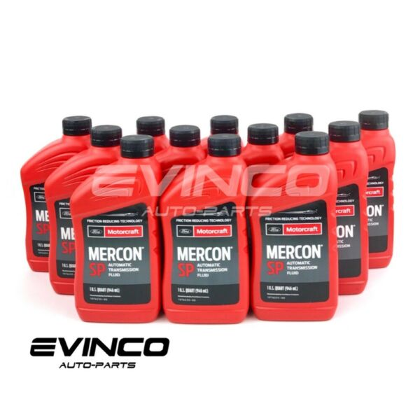Motorcraft Mercon SP TorqShift transmission fluid XT6QSP case 12 quarts