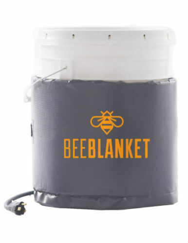 BB05 - Bee Blanket 5 Gallon Pail Heater wFixed Thermostat 110°F 120V 120 Watt