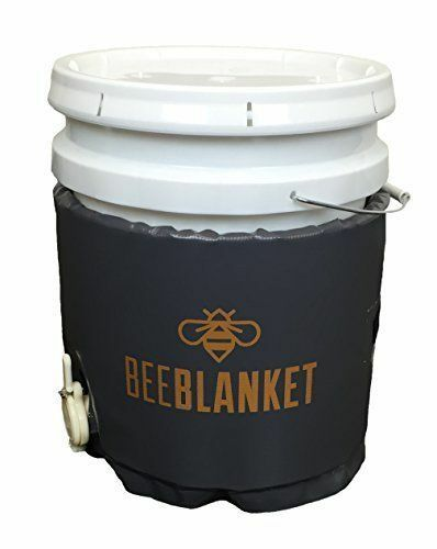 BB05GV - Bee Blanket 5 Gallon Pail Heater wCutout for Gate Valve Fixed Thermos