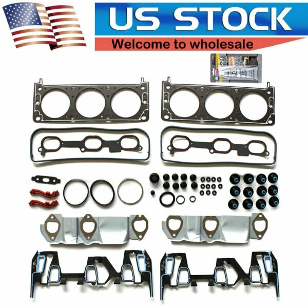 Graphite Head Gasket Set Fits 05-09 Chevrolet Equinox Pontiac Torrent 3.4L VIN F
