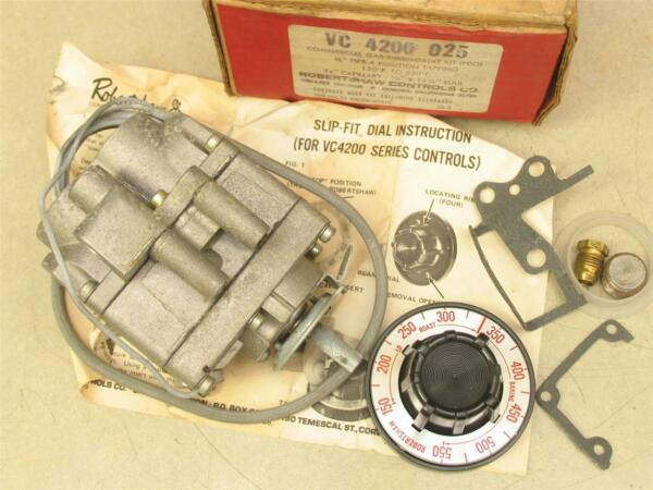 Robertshaw VC 4200 025 Commercial Gas Thermostat Kit FDO $200.00