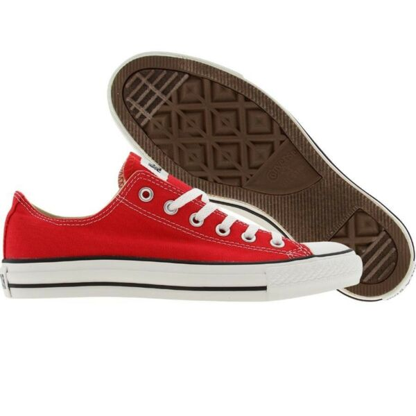 $52 Converse Men Chuck Taylor All Star Low Ox (red) M9696 fashion sneakers