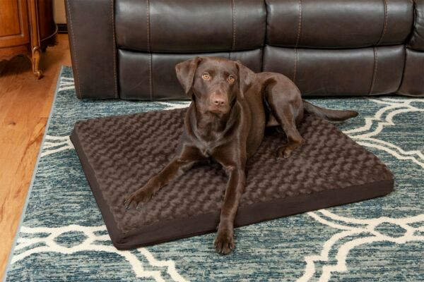 FurHaven Pet Bed Deluxe Ultra Plush Orthopedic Dog Bed Pet Bed