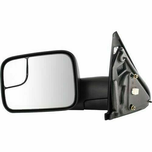 New Driver Power Heat Flip-Up Tow Mirror For Dodge Ram 1500  2500  3500 02-08