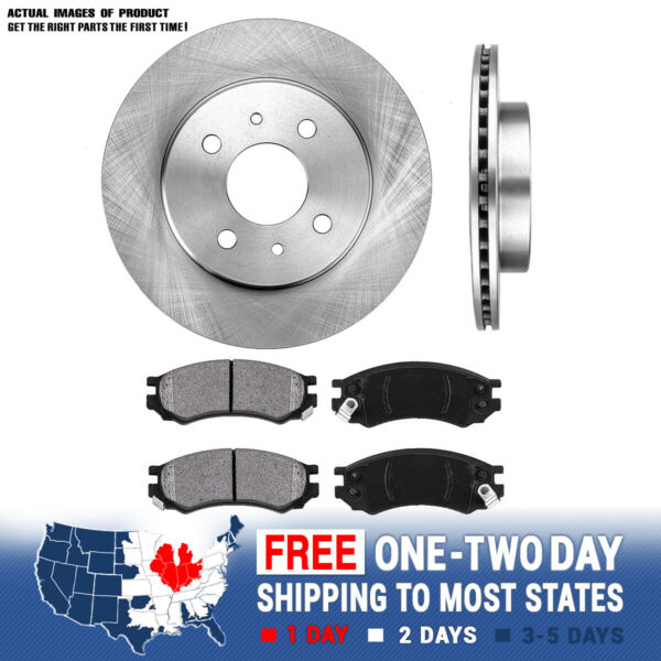 Front Rotors Metallic Pads For 1991 1992 1993 - 2002 SC1 SC2 Sl SL1 SL2 SW1 SW2