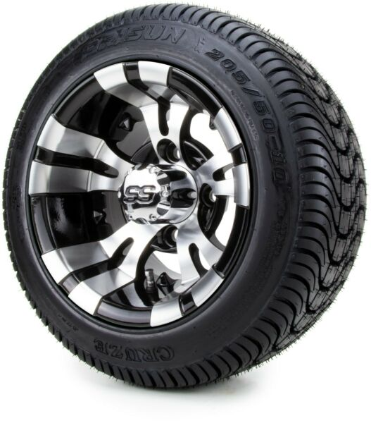 Golf Cart Wheels and Tires Combo - 10