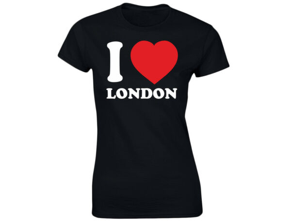 I Love London Damen Lustiges T-Shirt (12 Farben)