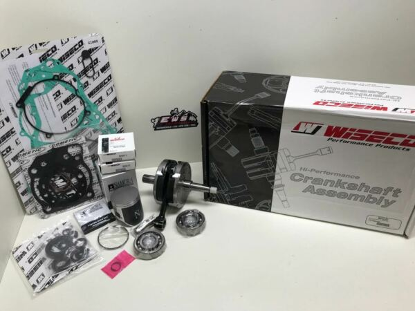 SUZUKI RM 125 ENGINE REBUILD KIT CRANKSHAFT NAMURA PISTON GASKETS 2001-2003