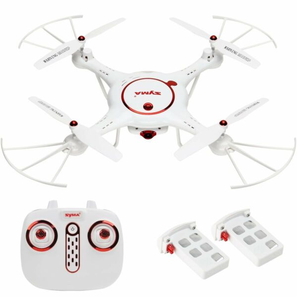 Syma X5UC RC Quadcopter Drone 6-Axis Gyro W/ 2MP HD Camera Barometer Set Height