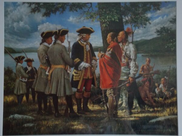 Historical PrintRobert Griffing - Hand Signed