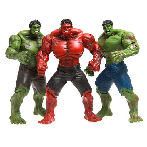 The Avengers 10'' Hulk Action Figure PVC Model Statue Collectible Boy Toy