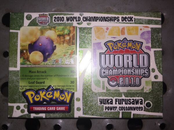 Pokemon 2010 World Championship Deck Yuka Furusawa SELAED Power Cottonweed