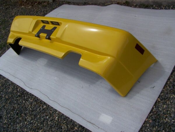 89-95 Ferrari 348 Used Rear Bumper with all Lights and plate bracket OEM