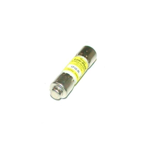 BUSSMAN LP CC 25 LOW PEAK ULTIMATE PROTECTOR TIME DELAY FUSE 25 AMP 600 VAC $6.99