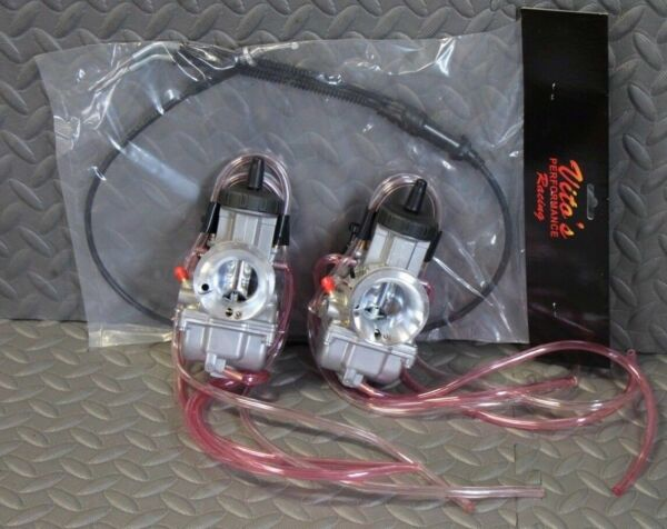 NEW 2 x 35mm carburetor thumb throttle cable aftermarket carbs Banshee 35 $179.99