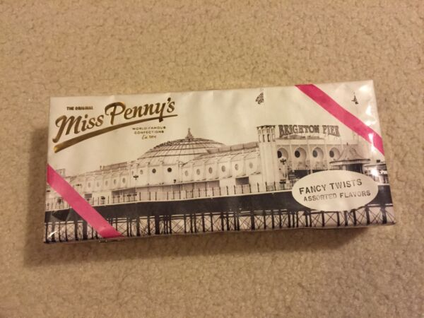 NWT Kate Spade Miss Penny's Dree Candy Box Clutch Retail $298