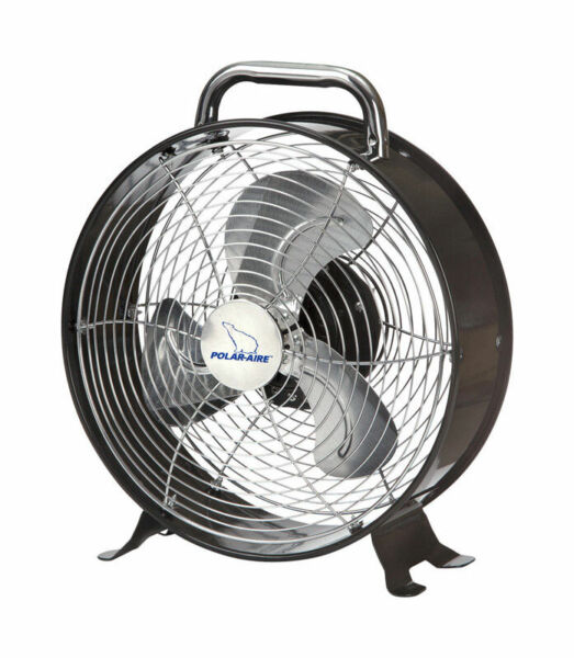 Polar Aire  9 in. H 1  Electric  Table Fan