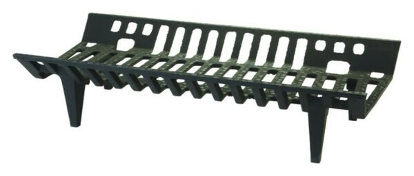 Vestal Black Painted Cast Iron Fireplace Grate