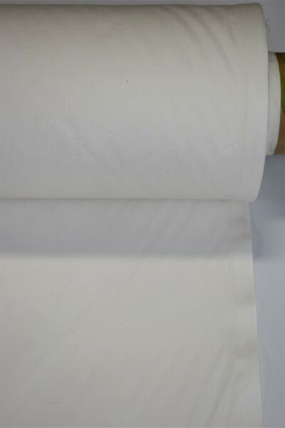 Down Proof Ticking Fabric Natural White Feather Proof 100% Cotton 10 Yards 62quot;