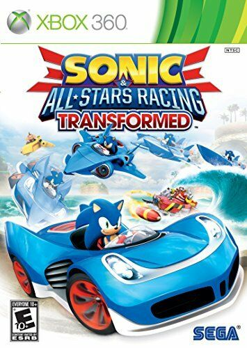 Sonic & All Stars Racing Transformed Xbox 360 Brand New Beauti Game for  childs