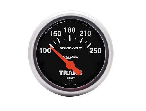 Auto Meter Sport-Comp Electrical Transmission Temperature Gauge 2-1/16