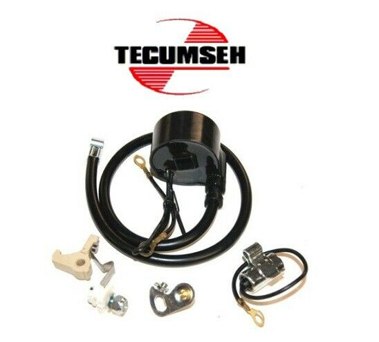 1884 Rotary Ignition Coil W Points amp; Condenser Fits Tecumseh 30560A And More $29.35