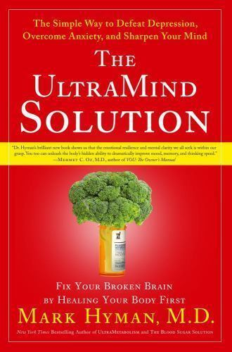 The UltraMind Solution  by Mark Hyman Hardcover book FREE SHIPPING Ultra Mind