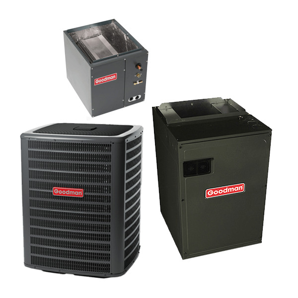 3 Ton 15.5 Seer Goodman Air Conditioning System $2570.00