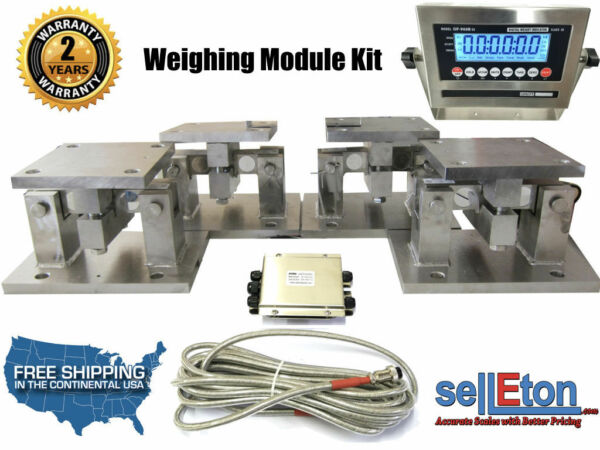 OP-313TM Load cell Conversion kit weigh module for Scale Tank Hoppers 140k lbs