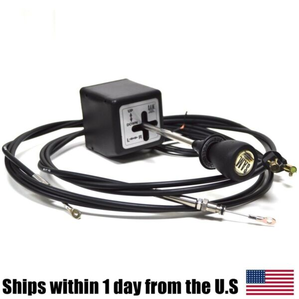 Snow Plow JoyStick Controller w Cables 56018 for Western SnowPlow