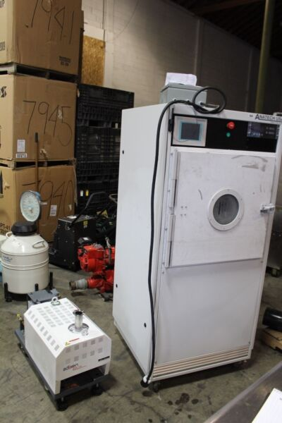 EXCELLENT WORKING ANATECH PLASMA CLEANER SCE600 WITH ADIXEN ACP120 PUMP
