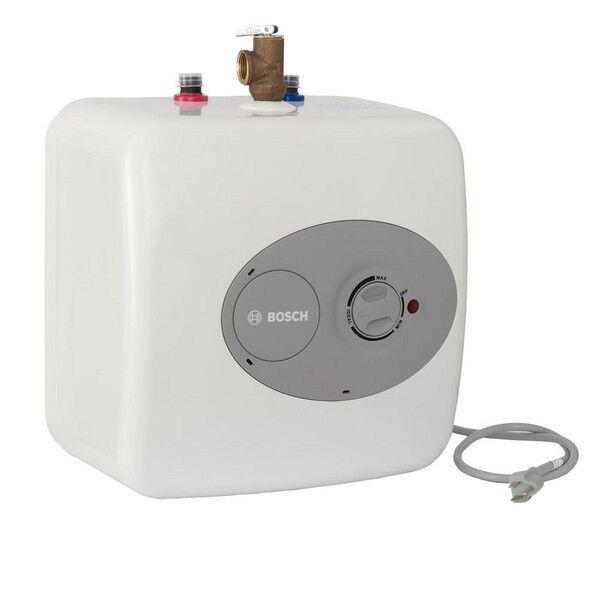 Electric Water Heater 2.5 Gallon 12 Amp Point Of Use Mini Tank Under Sink 120V