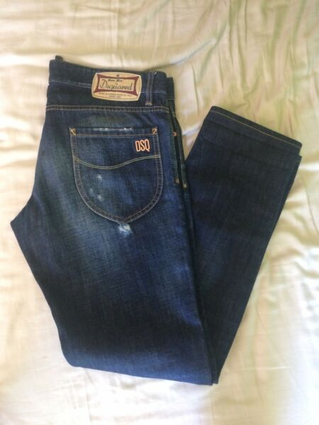 Authentic brand new with tags Dsquared Jeans size : 34 US $899.00