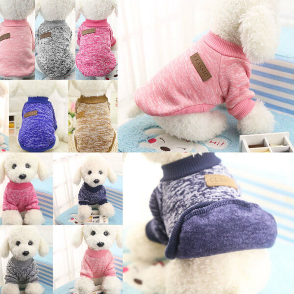 Hot Pet Coat Dog Jacket Winter Clothes Puppy Cat Sweater Clothing Coat Apparel G