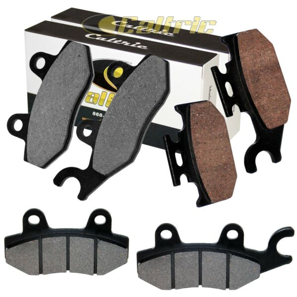 FRONT and REAR BRAKE PADS FIT Yamaha RHINO 450 YXR450F YXR 450F 2006-2009