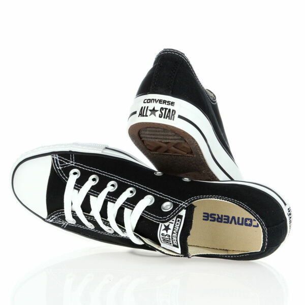 Converse All Star Chuck Taylor Canvas Shoes Low Top Brand New Black White